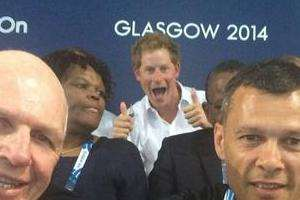 Achtung! The Royals Are Photobombing The CWG!